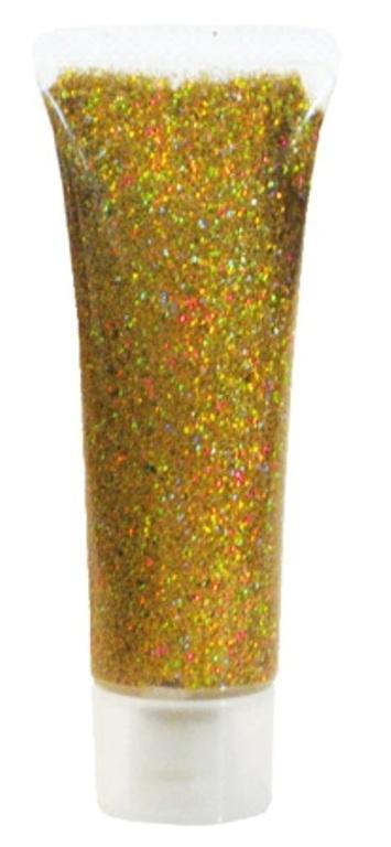 Glitter Gel Holographic Jewel Golden 18m Cosmetics Makeup