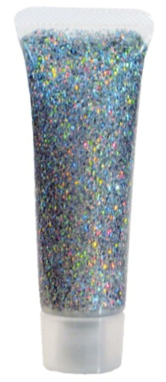 Glitter Gel Holographic Jewel Silver Cosmetics Makeup