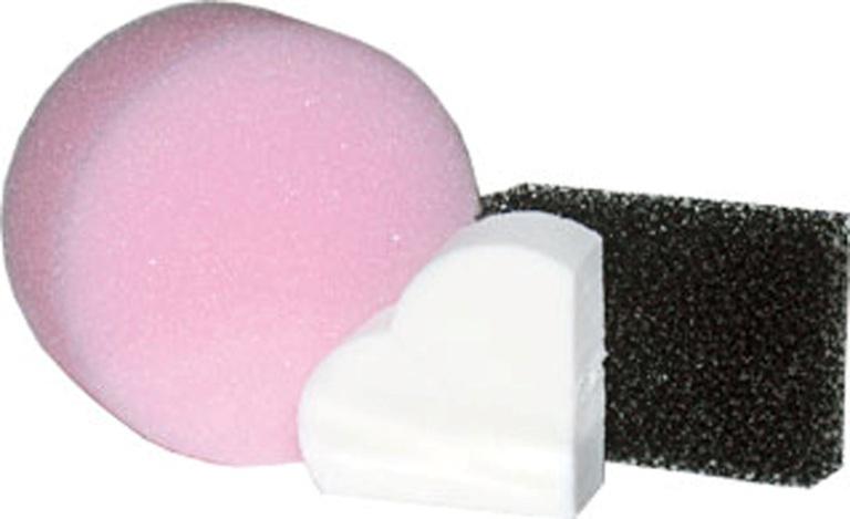 Sponge - Professional Set 3 Pieces Cosmetics Makeup