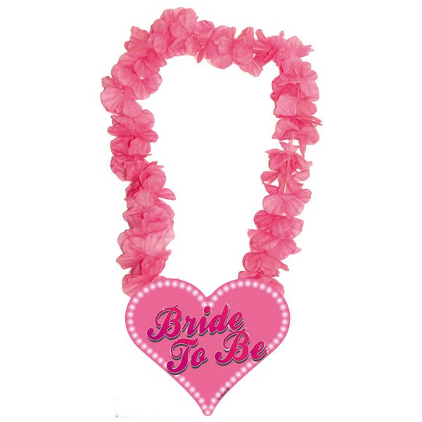 Hawaii Lei Hen Party Bride To Be Garland Tropical Lua Fancy Dress Accessory