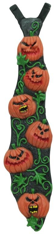 Tie Pumpkins Latex Necktie Accessory