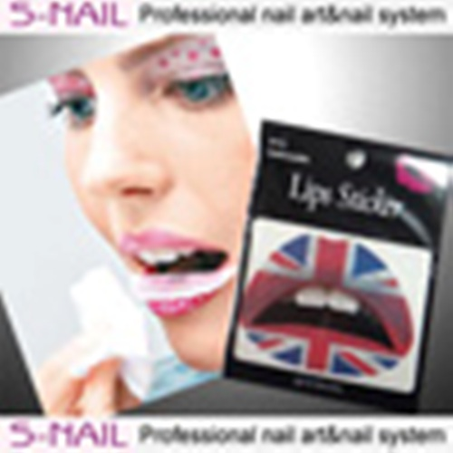 Lip Tattoo 2 in Packet Union Jack Face Body Paint Makeup
