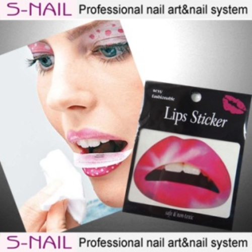 Lip Tattoo 2 in Packet Pink Flush Face Body Paint Makeup
