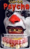 Teeth Billy Bob Psycho Clown Ugly Inbred Trailer Trash Fancy Dress Accessory