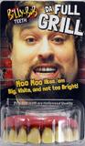 Teeth Billy Bob Full Grill Ugly Inbred Trailer Trash Fancy Dress Accessory