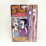 Teeth Brushes for Red Necks.His & Hers Ugly Inbred Trailer Trash Fancy Dress Acc