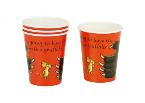 Gruffalo - Cup (Pk 8) for Disposable Party Tableware