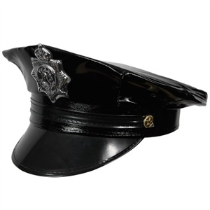 Deluxe Cop Hat for Fancy Dress Party Accessory
