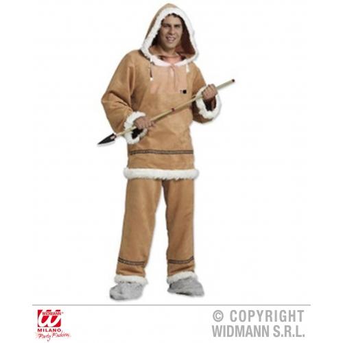 Mens eskimo costume outfit for inuit alaskan fancy dress ebay mens eskimo costume outfit for inuit alaskan fancy solutioingenieria Choice Image