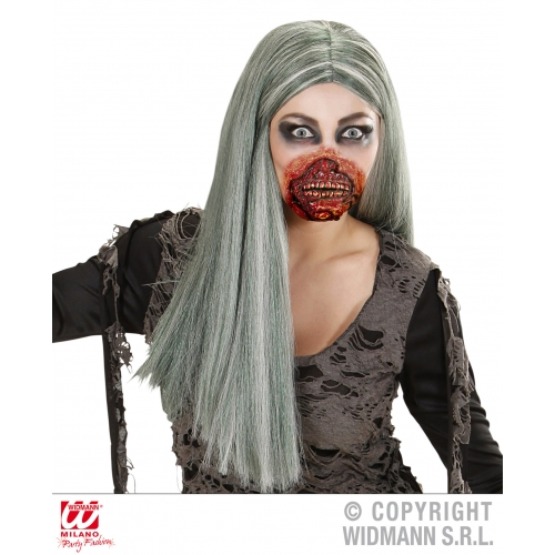 Zombie Mouth Mask Makeup for Halloween Stage Accessory