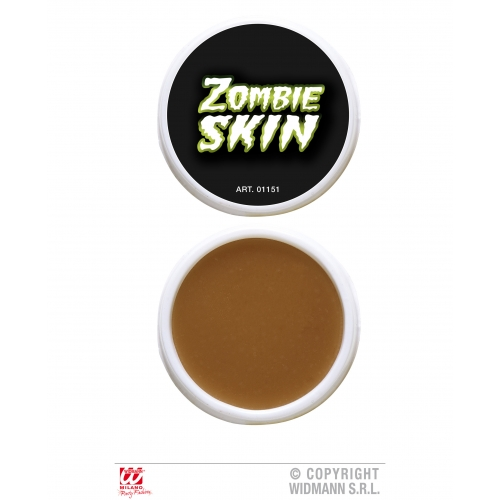 Zombie Skin Makeup for Halloween Stage Accessory