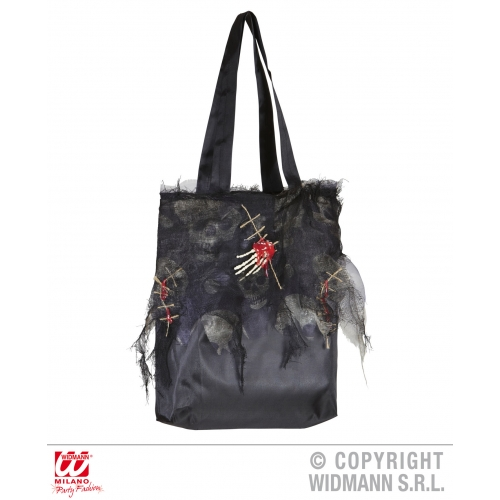 Zombie Handbag Novelty Prop for Halloween Living Dead Fancy Dress Accessory