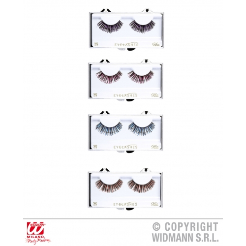 Eyelashes With Tinsel Makeup for Accessory Stage Accessory
