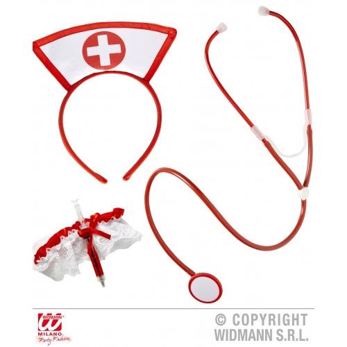 Nurse Set Fancy Dress Up Set for Hospital Doctors