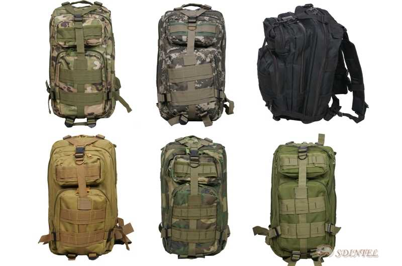 US-ARMY-MILITARY-COMBAT-BACKPACK-RUCKSACK-HIKING-CAMPING-BAG-CAMOUFLAGE-30L-3P