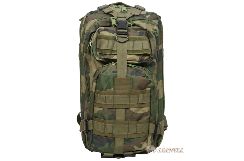 US ARMY MILITARY COMBAT BACKPACK RUCKSACK HIKING CAMPING BAG CAMOUFLAGE 30L 3P