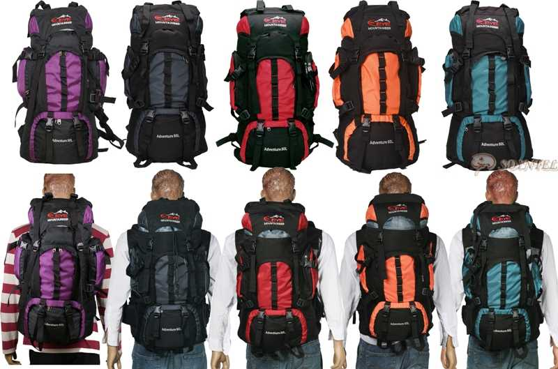 OUTDOOR SPORT TRAVEL RUCKSACK BACKPACK CAMPING HIKING WALKING CLIMBING BAG 50L