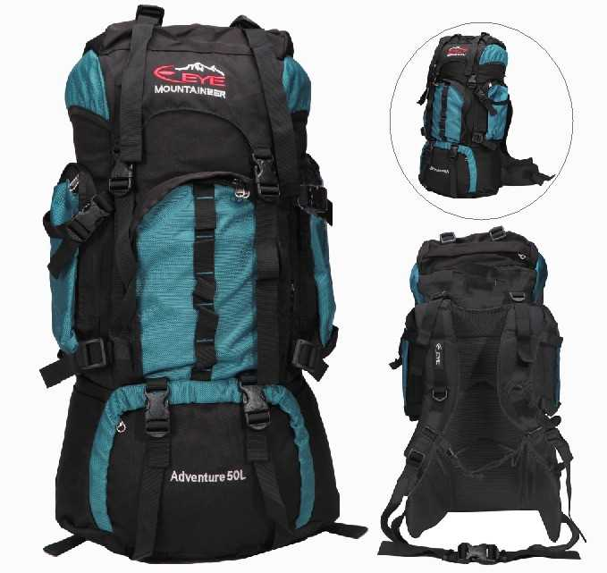 OUTDOOR-SPORT-TRAVEL-RUCKSACK-BACKPACK-CAMPING-HIKING-WALKING-CLIMBING-BAG-50L