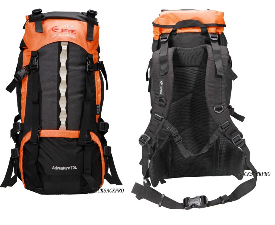 35L-100L Climbing Camping Hiking Outdoor Rucksack Backpack Muti Color Bag