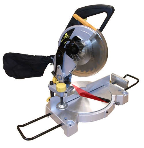 Compound Mitre Saw 240V Electric 1200w Motor Chop Cross Cut 210mm TCT Blade