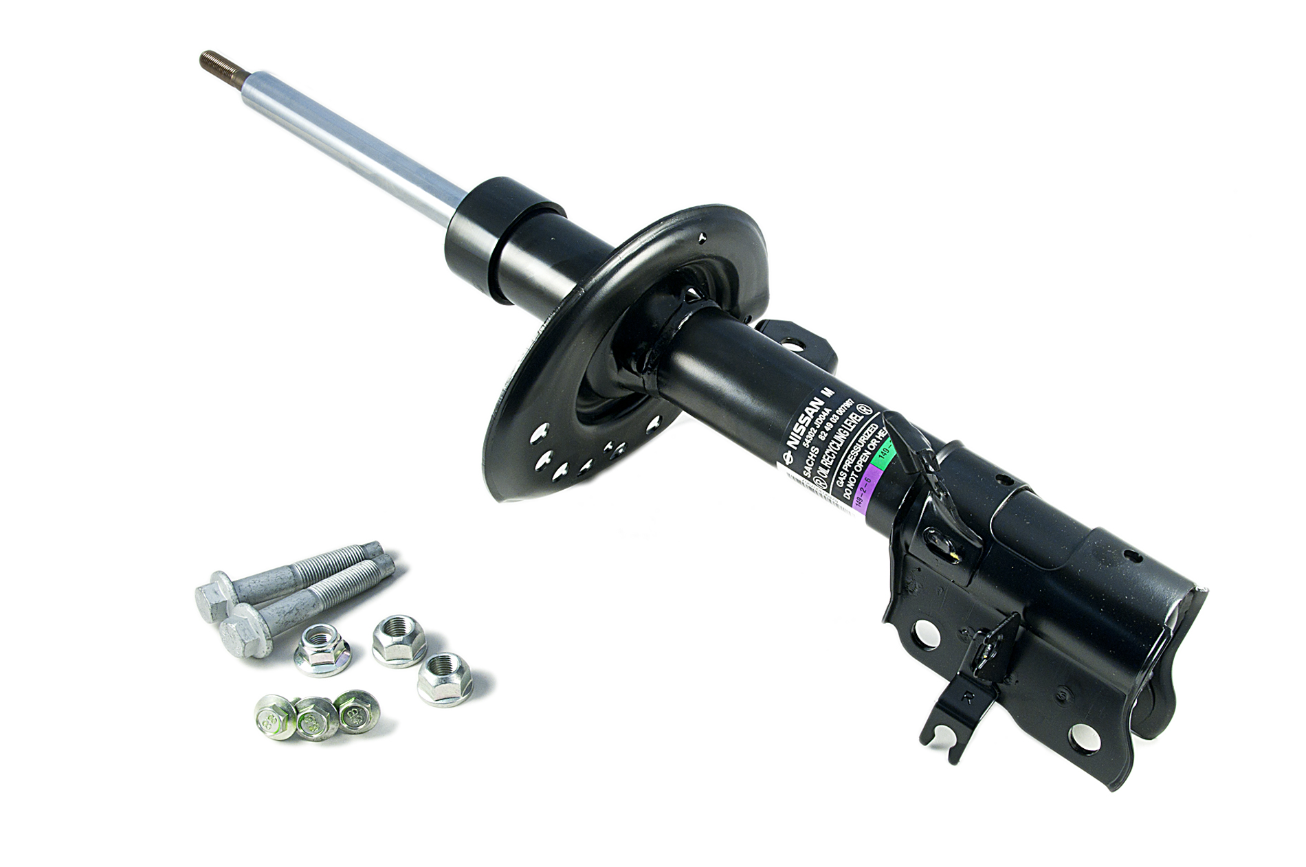 Shock Absorber Replacement : Nissan qashqai genuine car replacement front shock