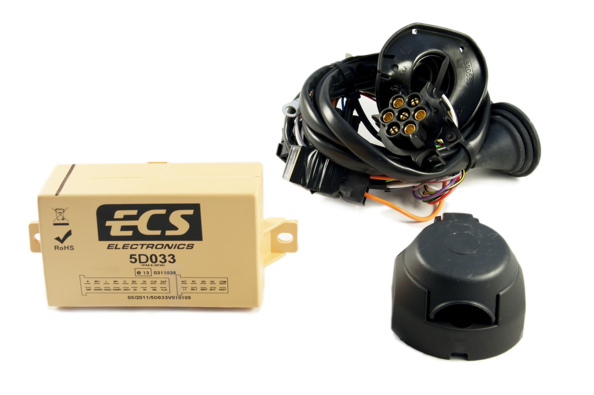 nissan genuine 7 pin towbar hitch trailer towing electric wiring kit ke505jg207 ebay