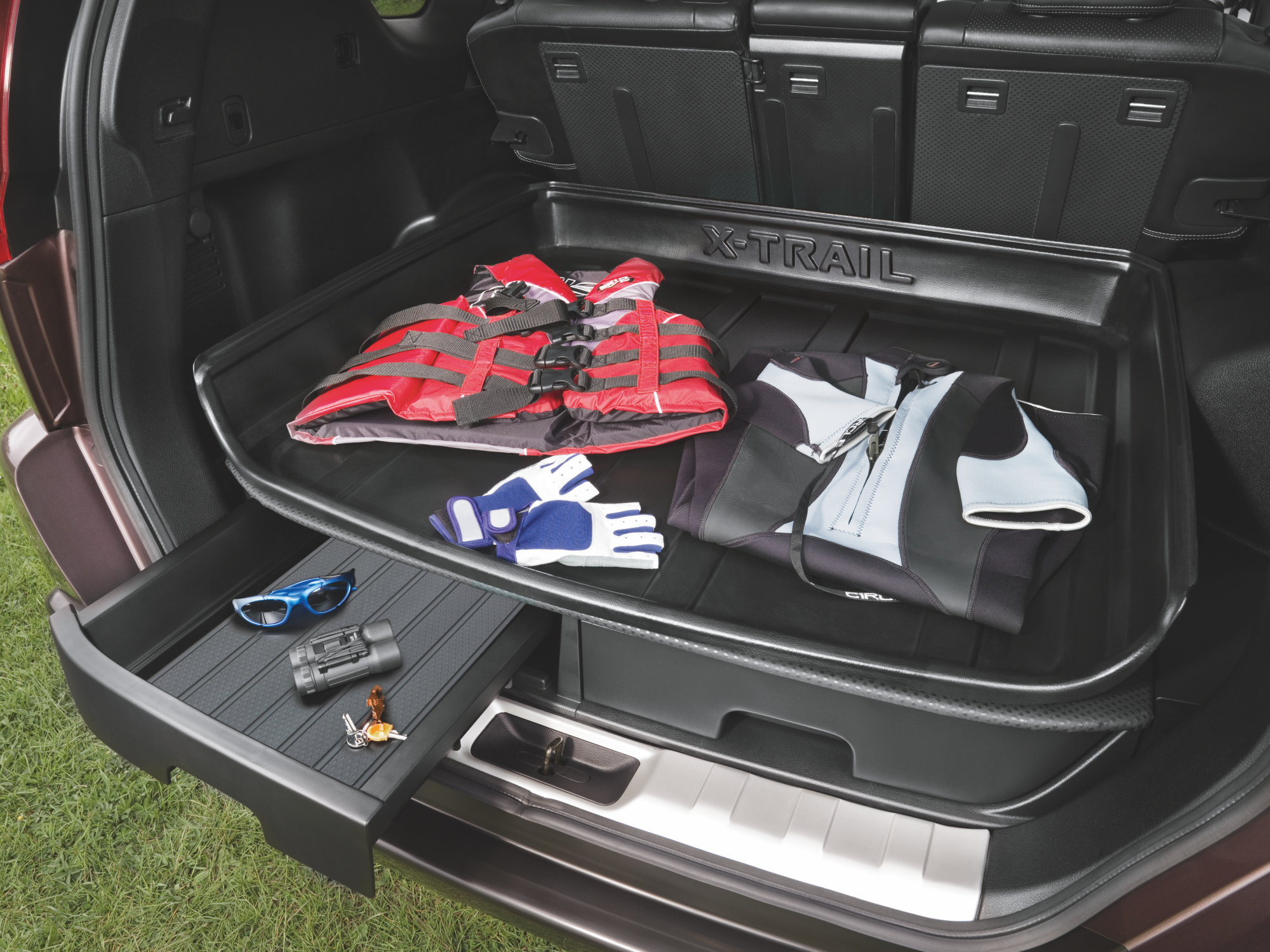 Nissan X Trail Genuine Car Boot Trunk Liner Lining Hard