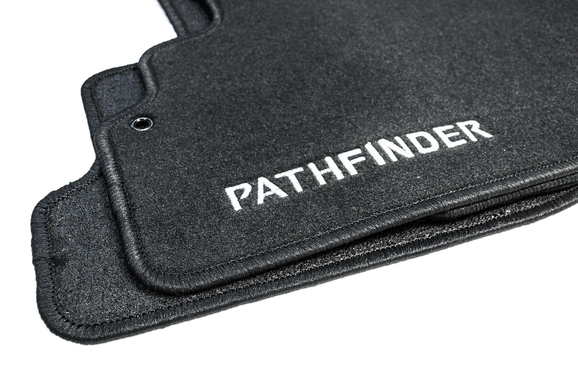 Rubber floor mats nissan pathfinder 2013 - Genuine Nissan Nissan Pathfinder Genuine Floor Mats Luxury Textile