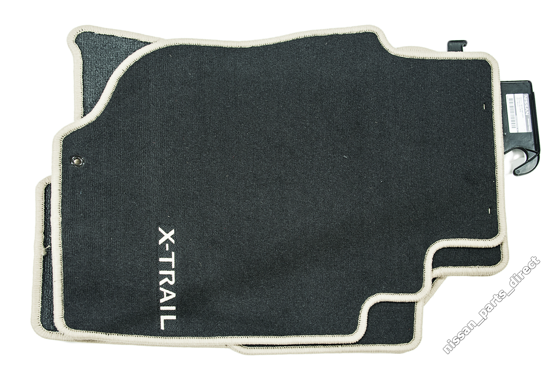 genuine nissan nissan genuine x trail t30 floor mats velour ke755eq041