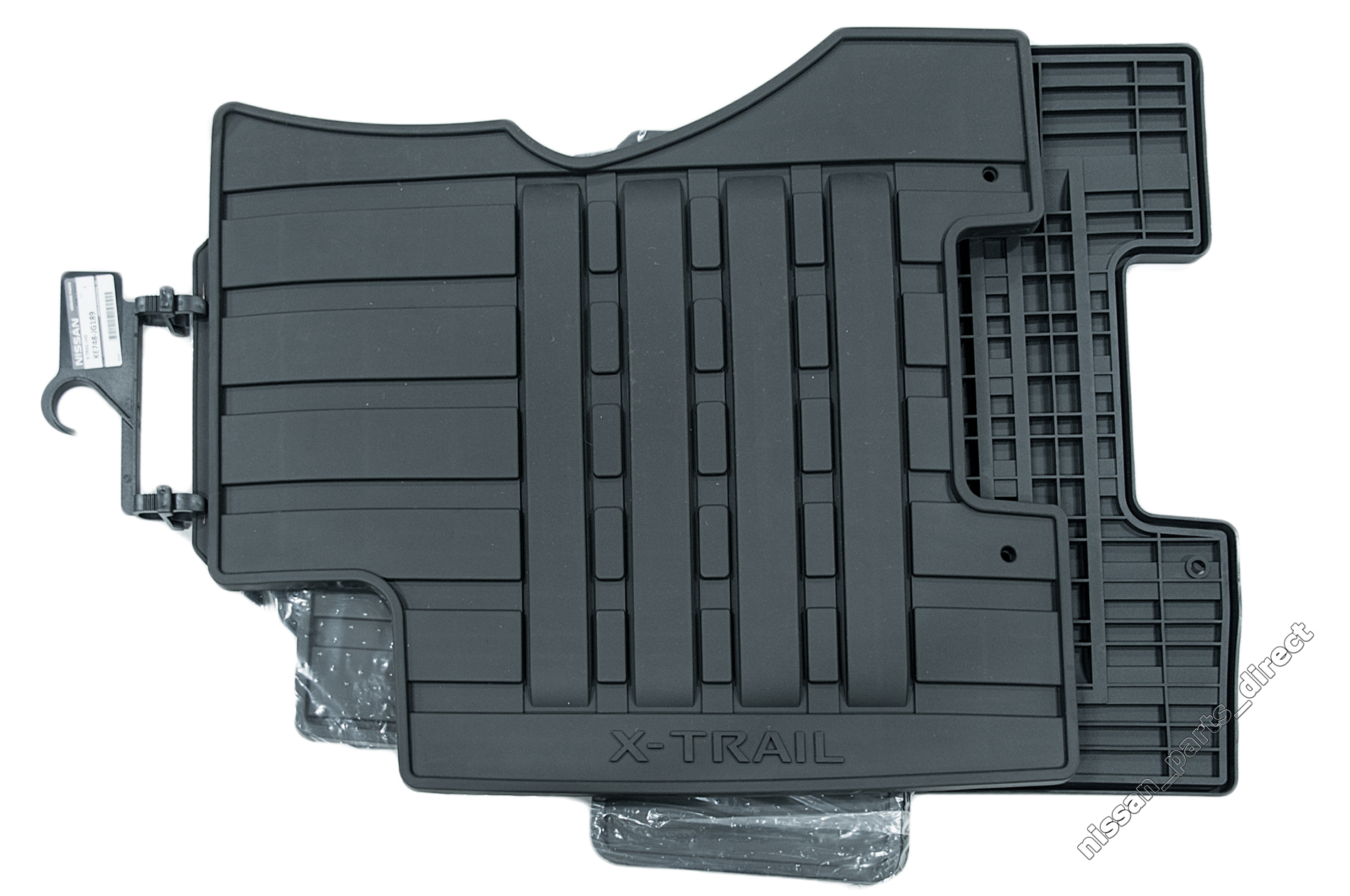Nissan Genuine X Trail T31 All Weather Floor Mats Rubber