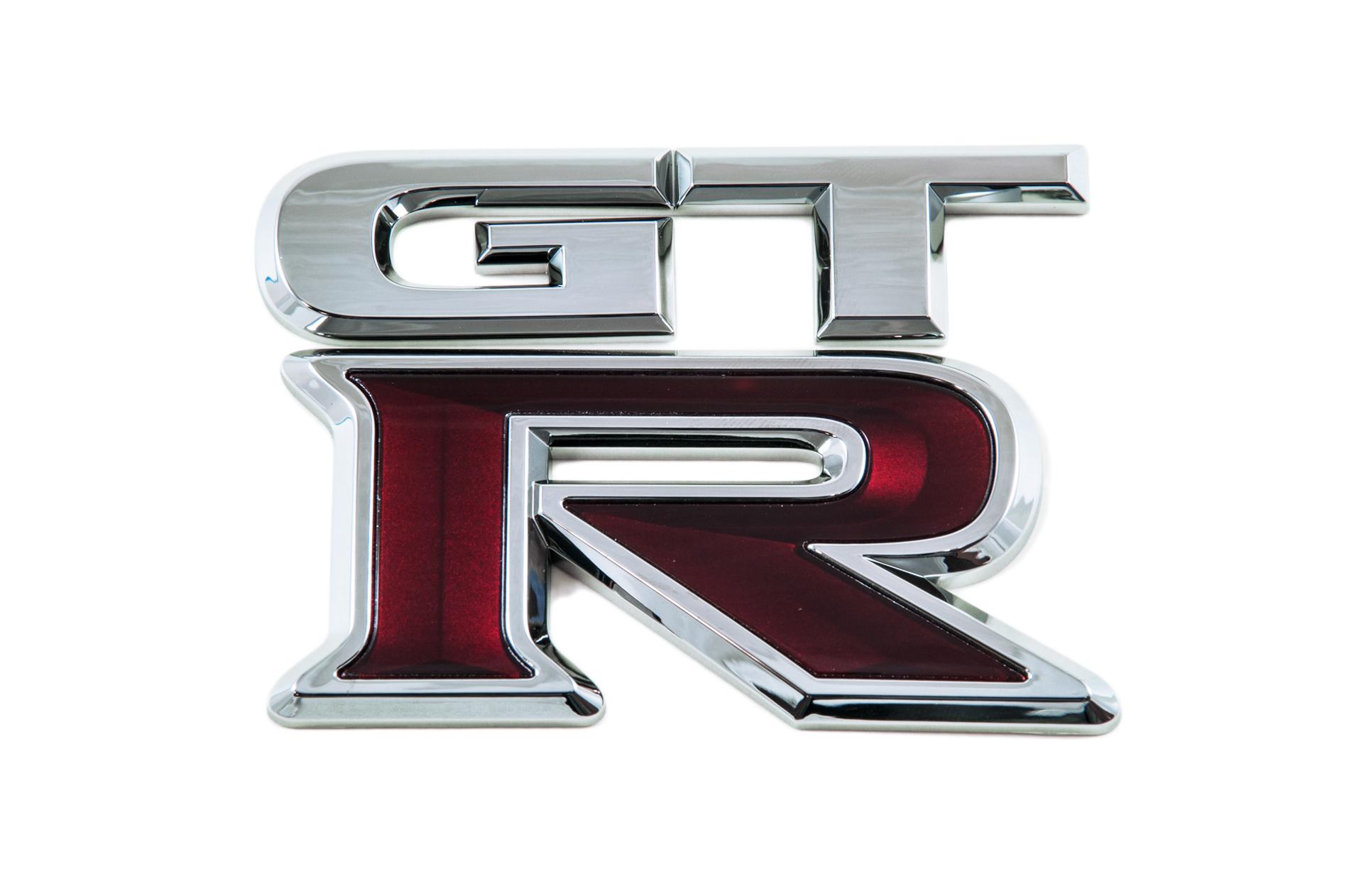 Genuine Nissan Gt R R35 Rear Badge 84894jf00a Ebay