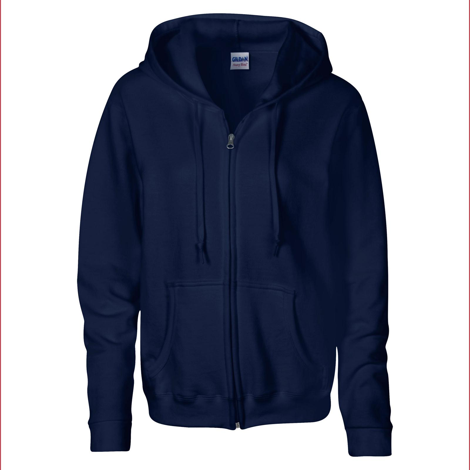 Navy Zip Up Hoodie Womens