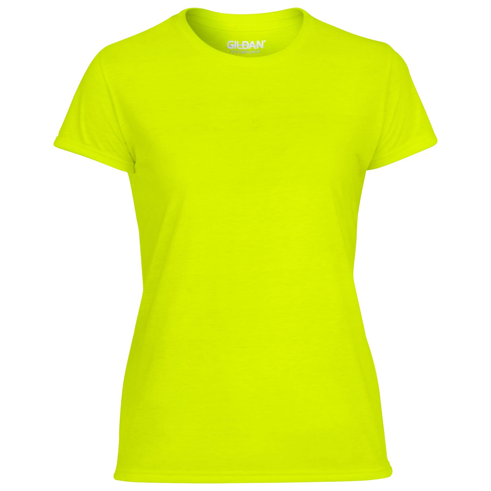 New GILDAN Womens Ladies Sports Core Cool Performance T Shirt 8 ...
