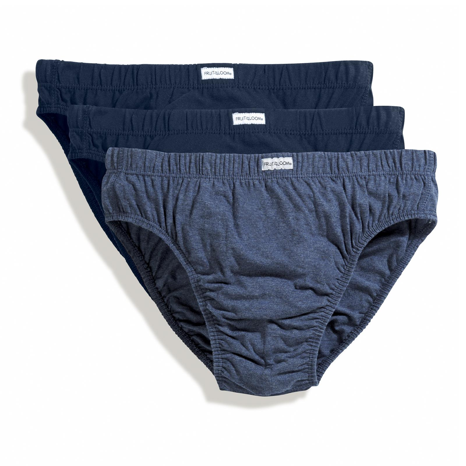 new fruit of the loom mens classic cotton slip underwear 3 pack 4 colour sets ebay. Black Bedroom Furniture Sets. Home Design Ideas