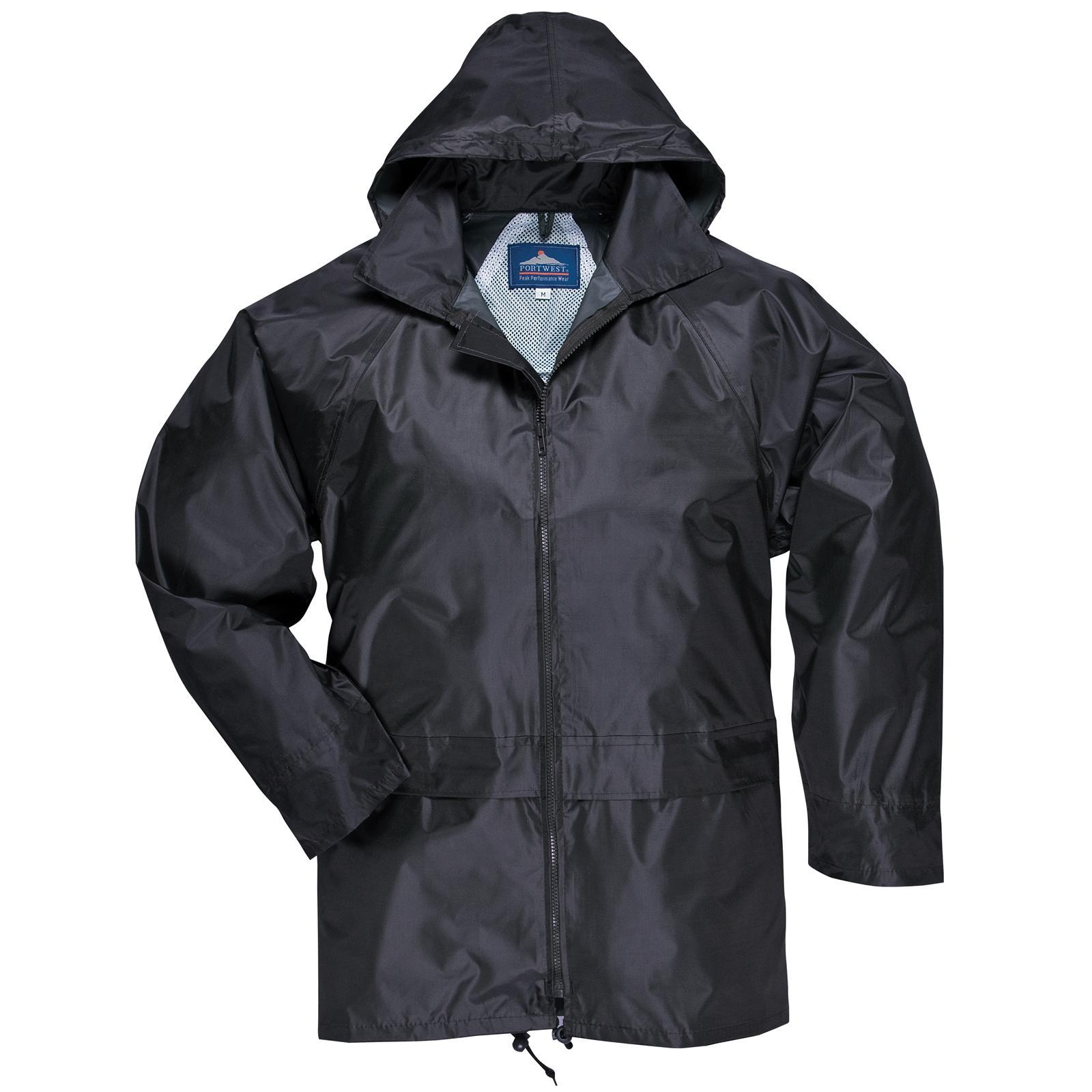 New PORTWEST Mens Womens Classic Rain Waterproof Jacket S M L XL ...