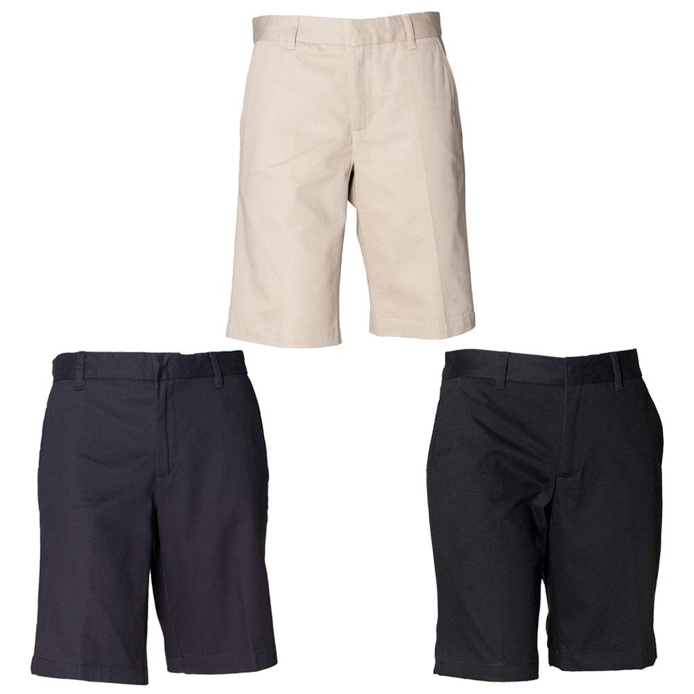 New HENBURY Womens Ladies Summer Flat Fronted Chino Shorts 3 ...