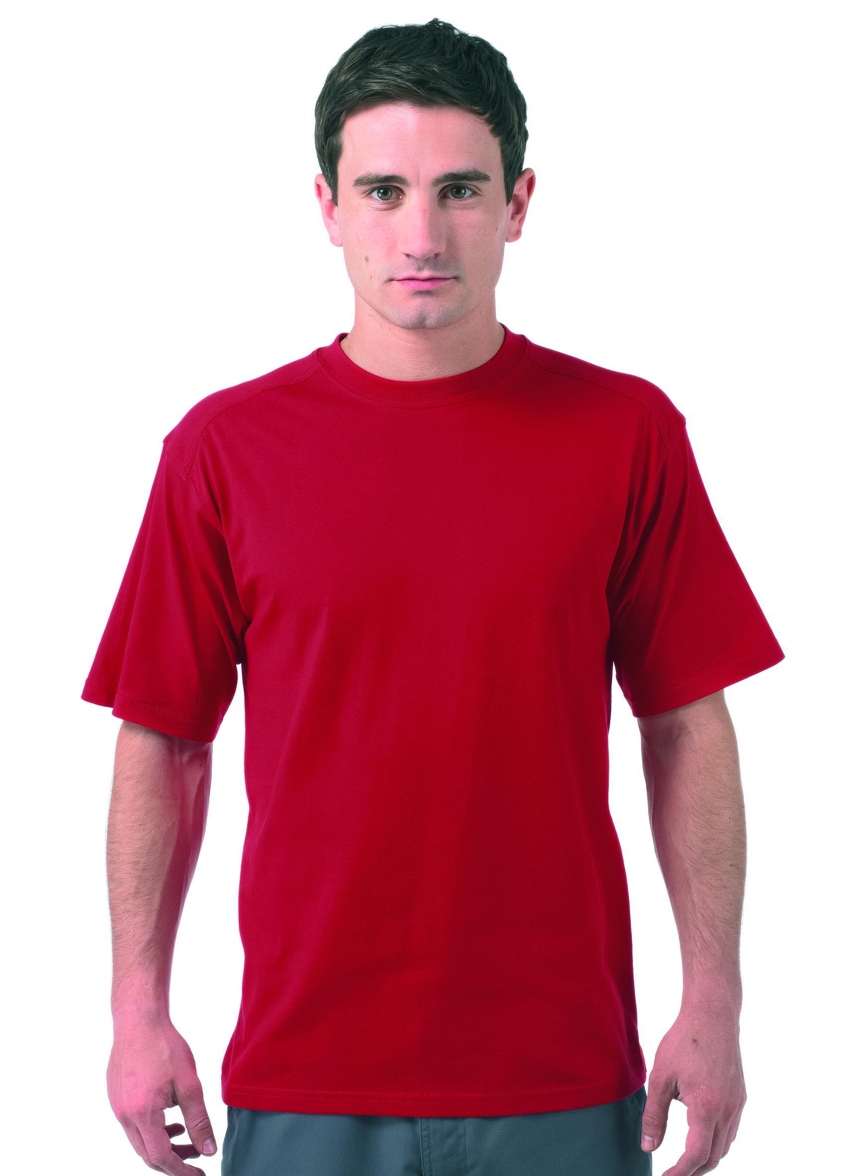 New Russell Mens Work Wear Heavy Duty Cotton T Shirt In 6