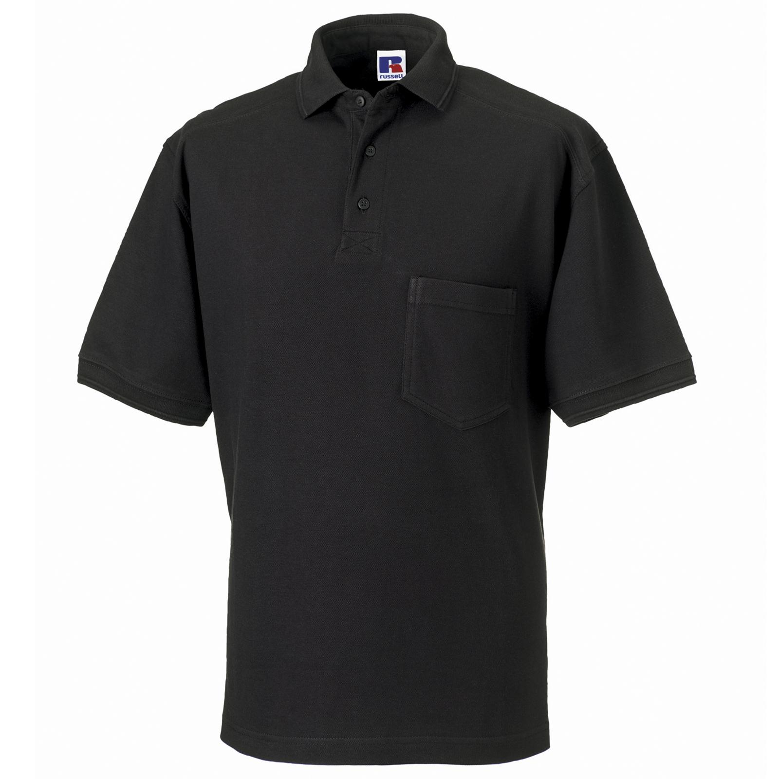 new jerzees mens workwear heavy cotton polo shirt 6 cols