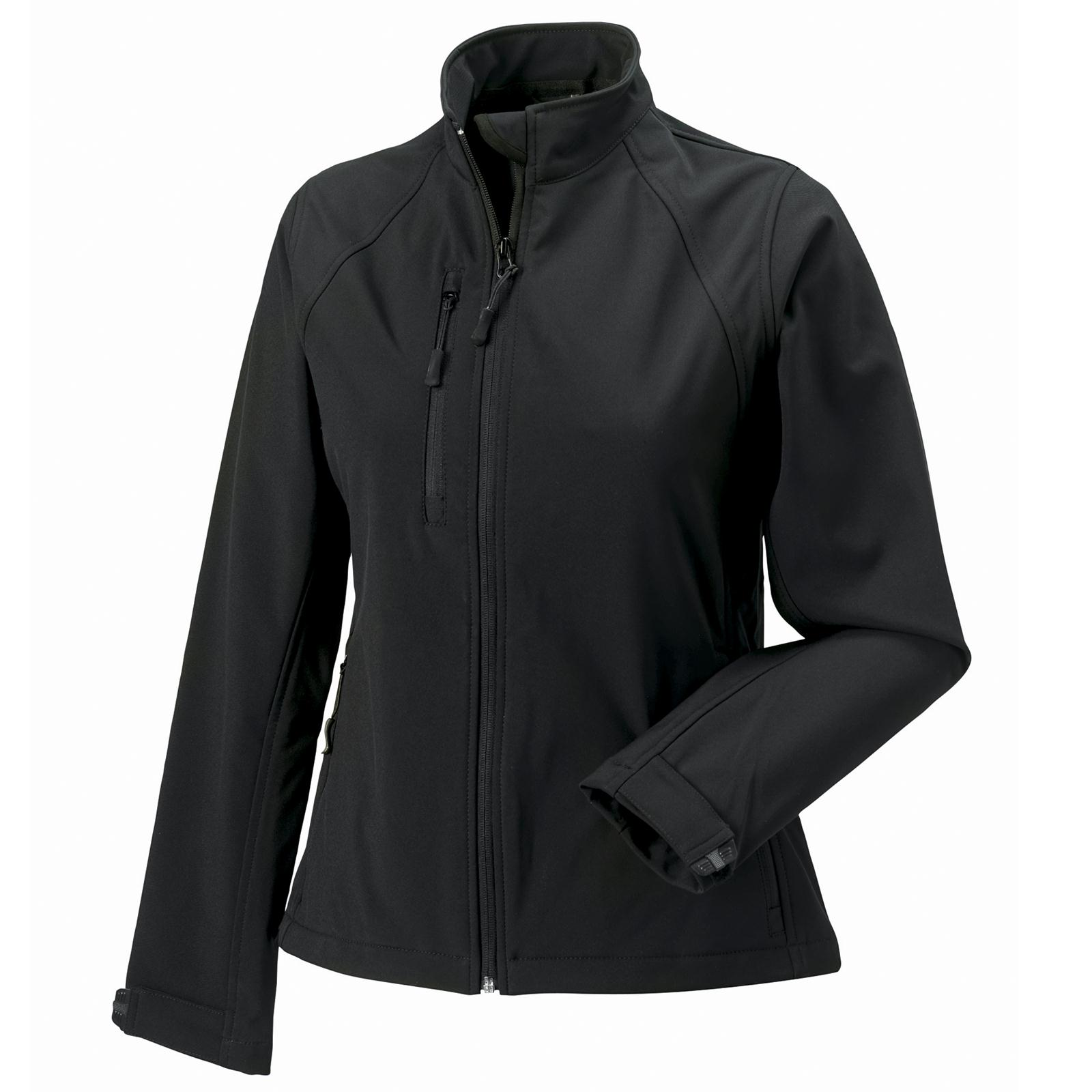 new russell ladies soft shell jacket in 6 colours xs 4xl ebay. Black Bedroom Furniture Sets. Home Design Ideas