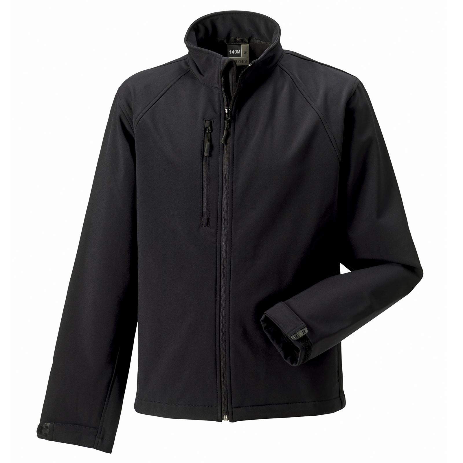 new russell mens casual soft shell jacket in 6 colours xs 4xl ebay. Black Bedroom Furniture Sets. Home Design Ideas