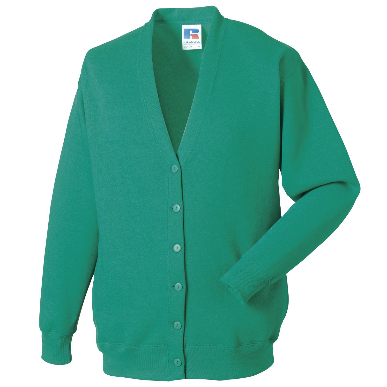 Jerzees Fashion Mens Womens Fleece Cardigan Sweatshirt in 8 ...