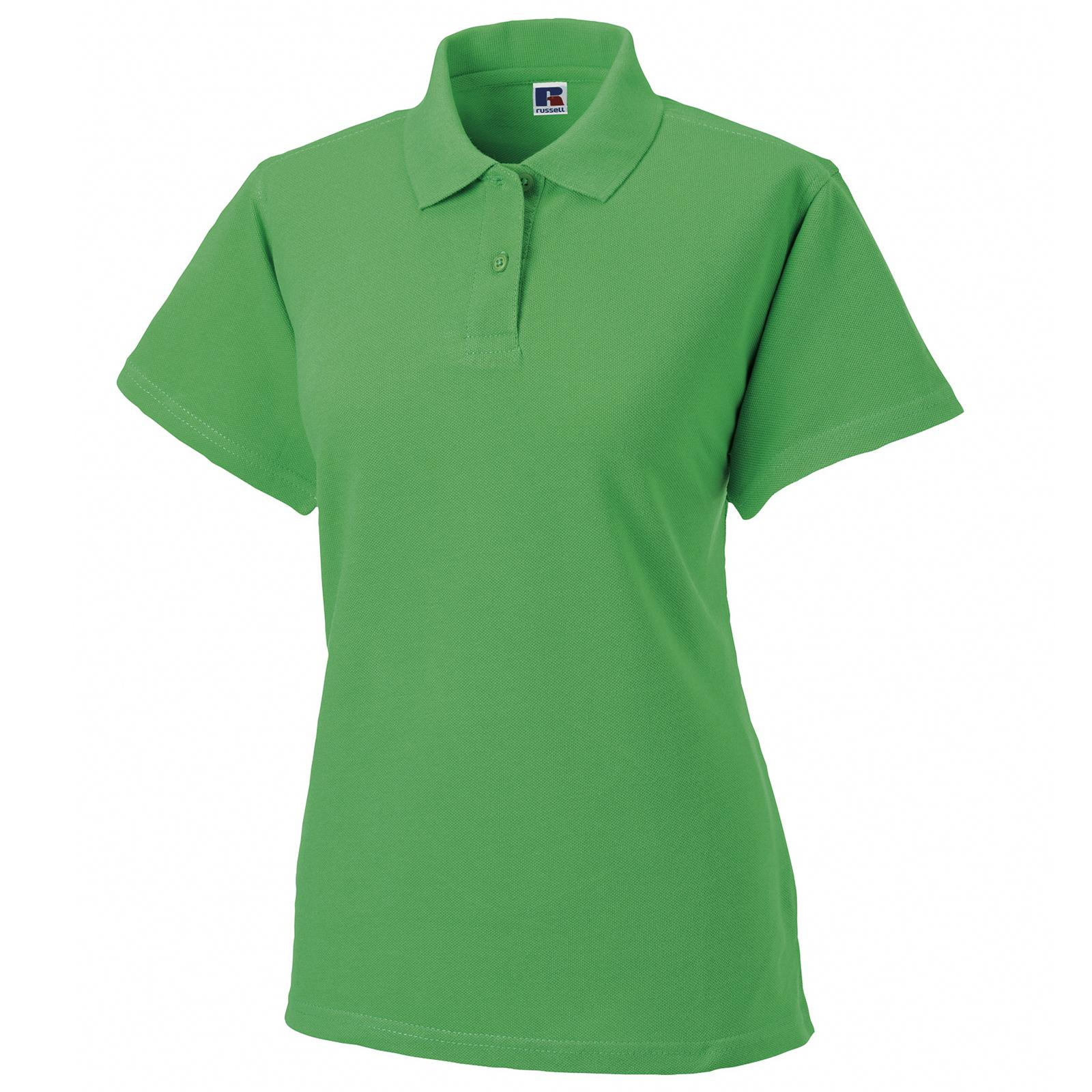 New Jerzees Womens Ladies 100 Cotton Polo Shirt In 12