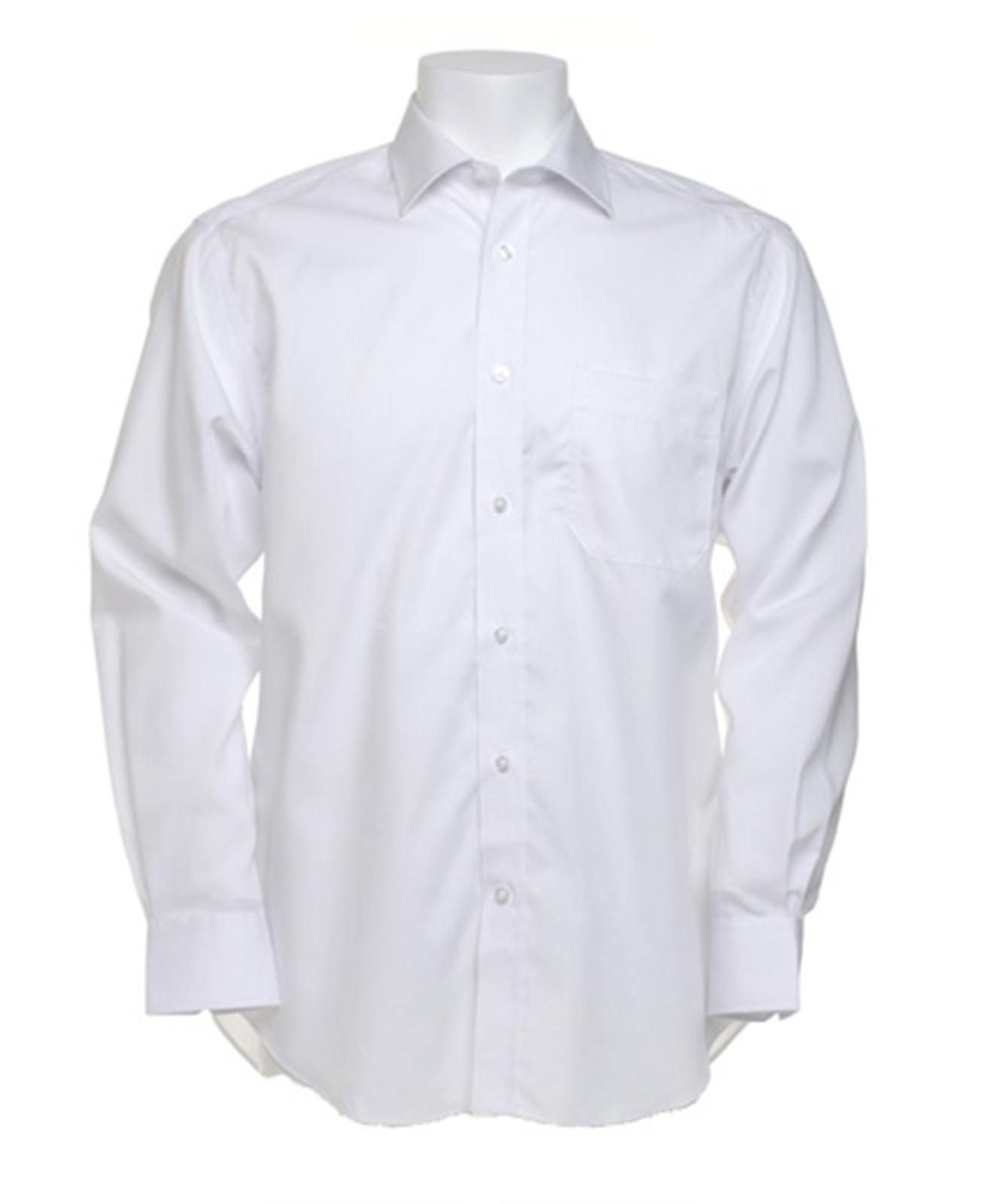 NUOVO Kustom Kit Premium Camicia aziendale a maniche lunghe in 2 colori 145-185