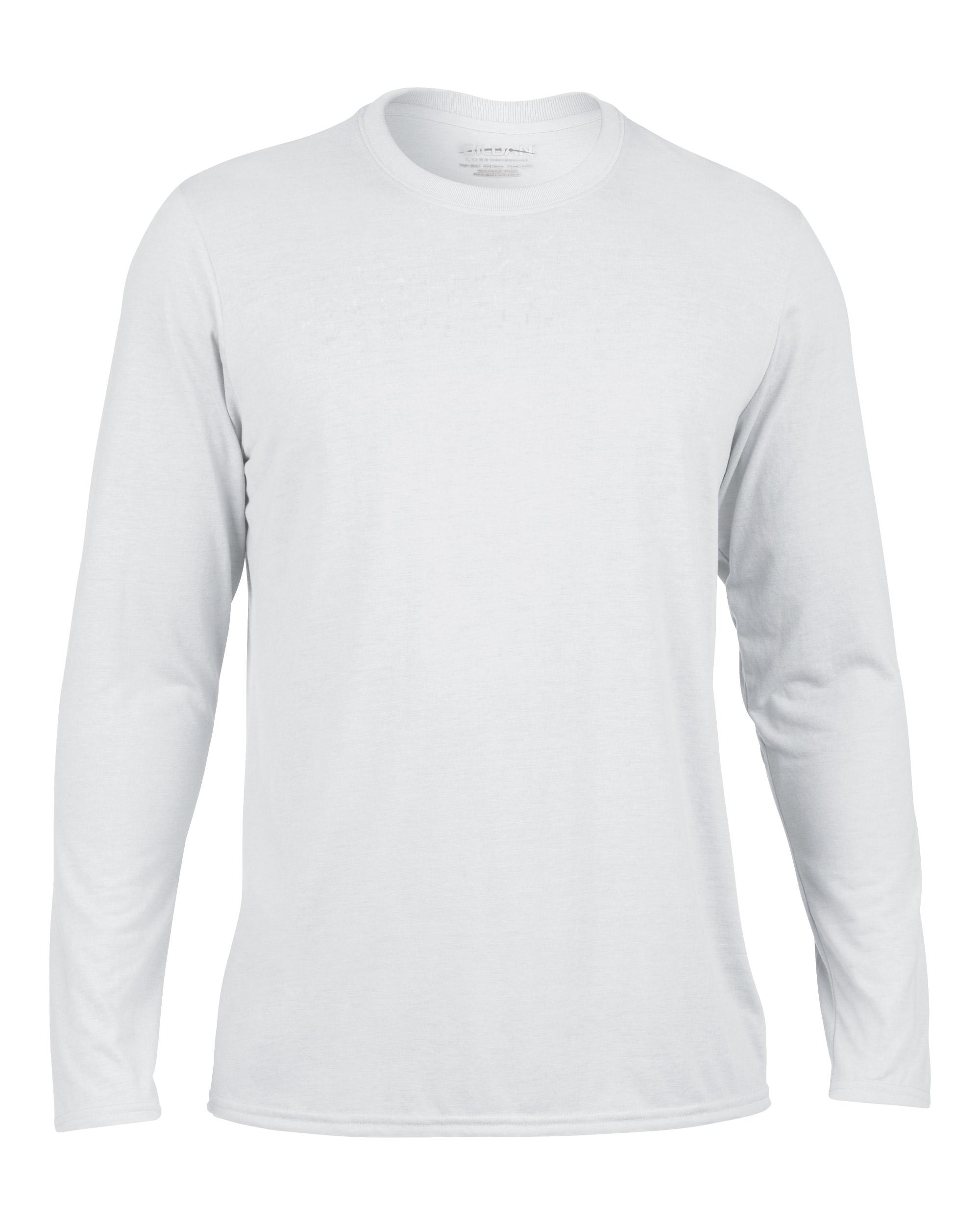 Mens Plain White Long Sleeve T Shirt | Artee Shirt