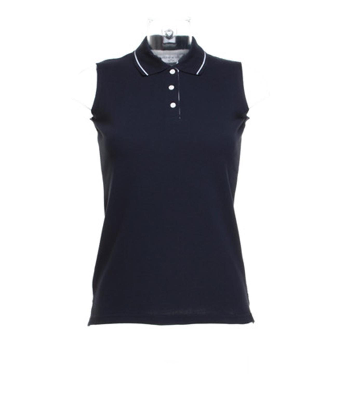 New gamegear womens ladies golf proactive sleeveless polo for Sleeveless shirts for ladies