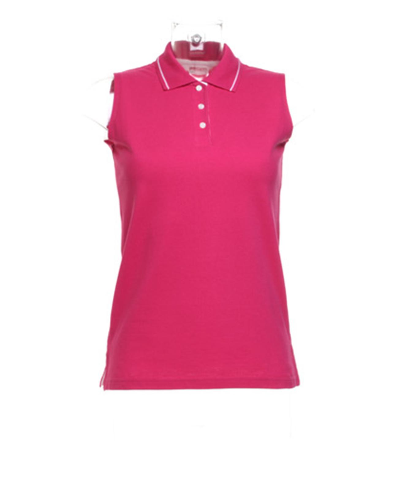 New gamegear womens ladies golf proactive sleeveless polo for Ladies sleeveless golf polo shirts