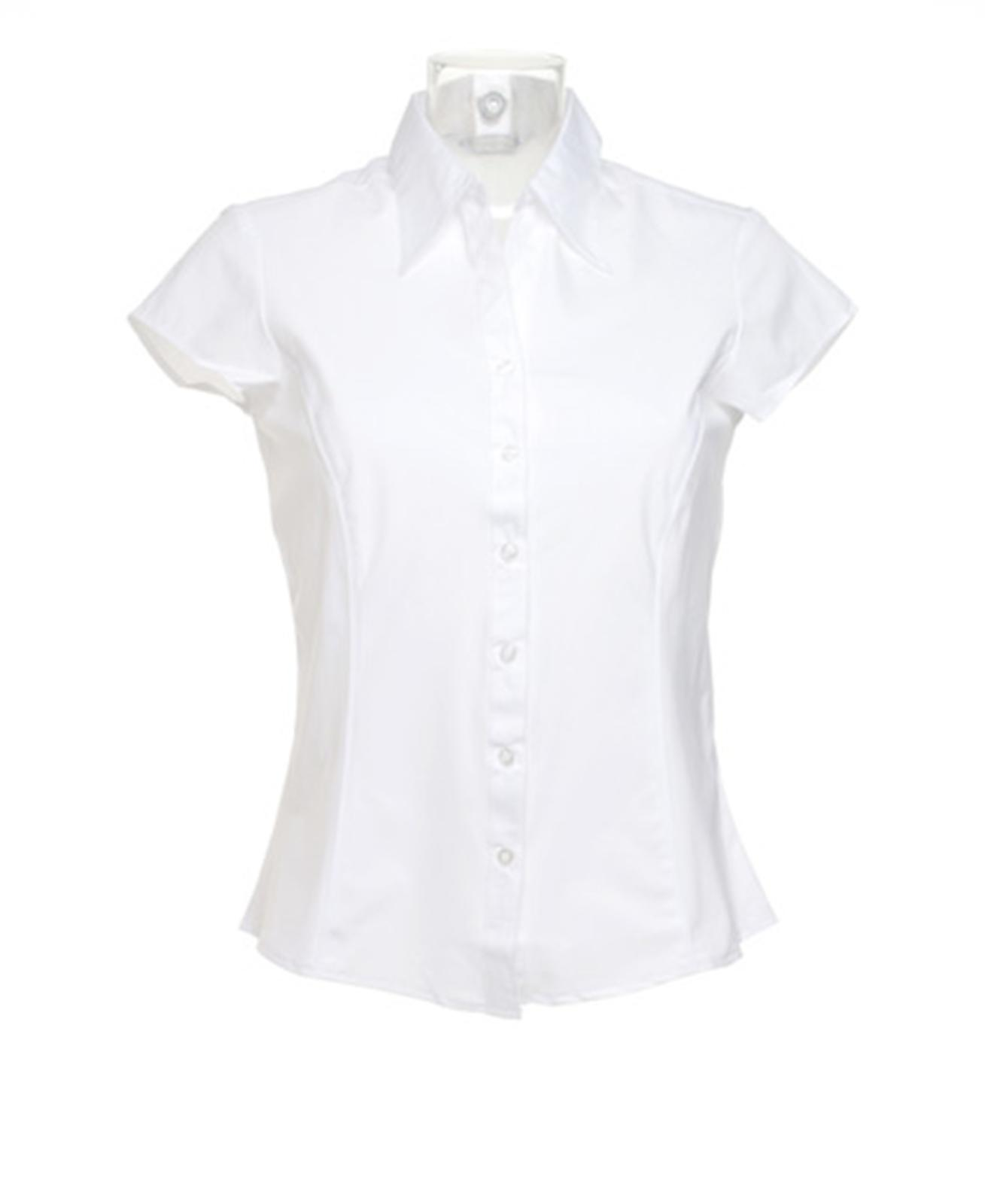 Ladies White Work Shirt Custom Shirt