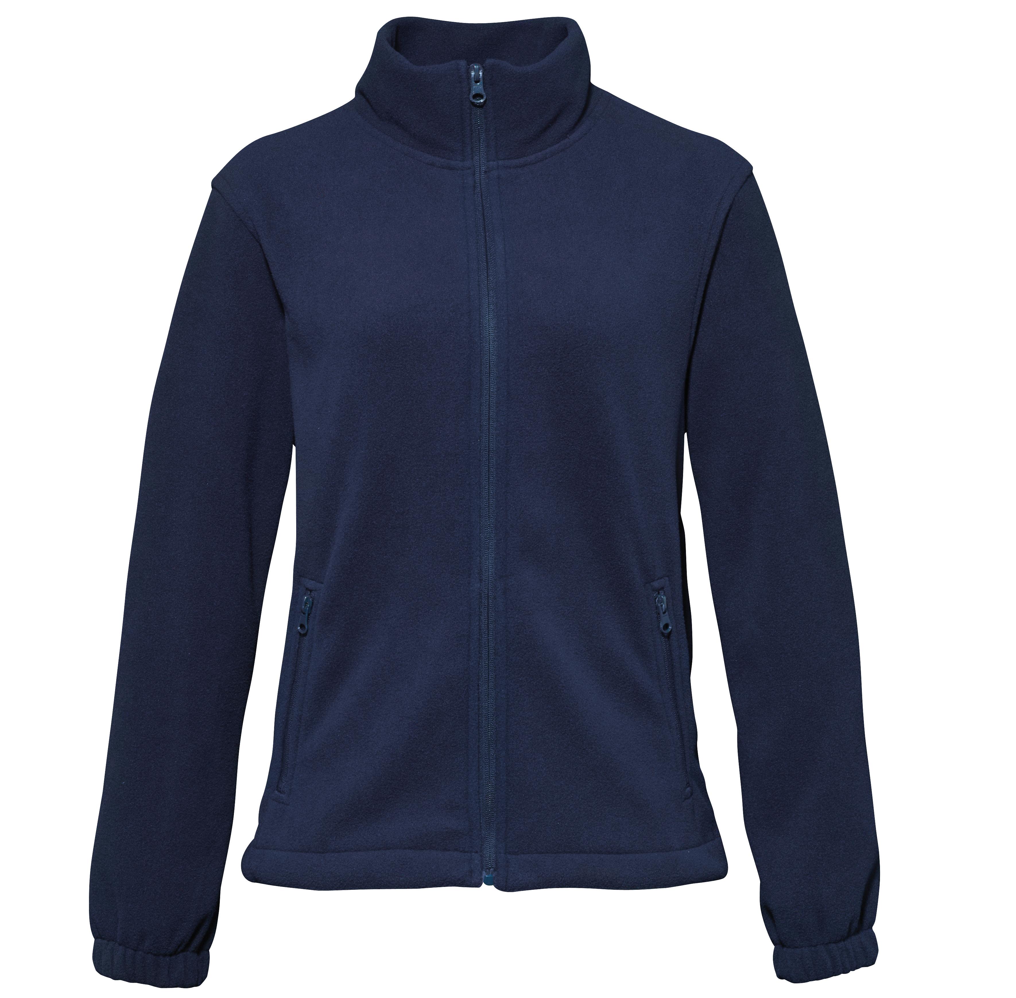 2786 Womens Casual Regular Fit Collared Zip Up Sports Fleece ...