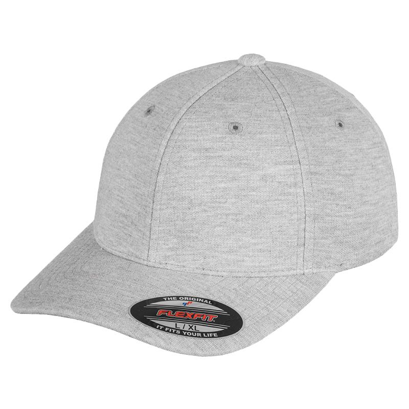 Flexifit Unisex Double Jersey Cap Headwear Casual Basic Hat Accessory One Size