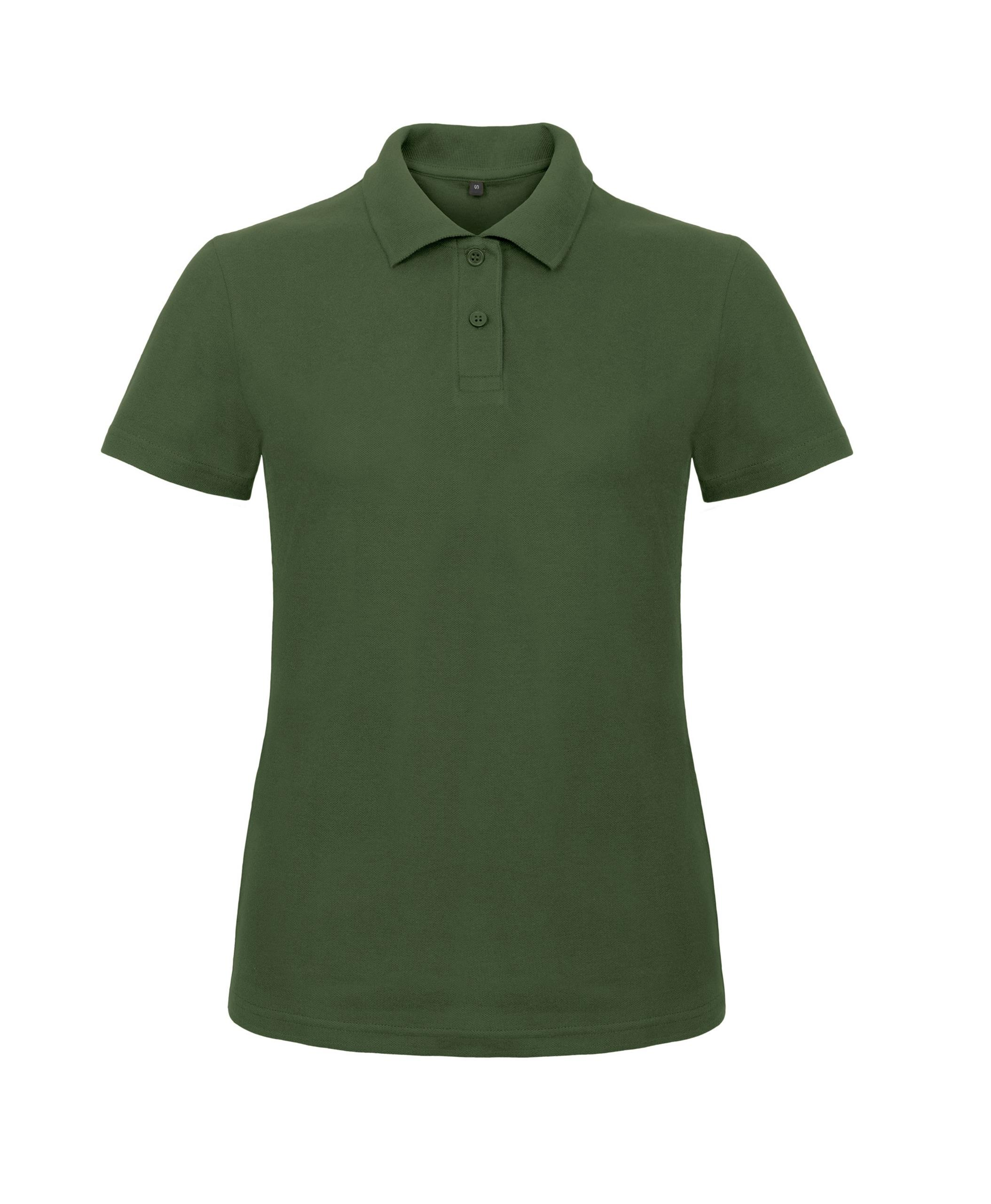 Womens b c collection casual short sleeved button up polo for No button polo shirts